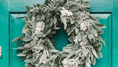 Creating A Holiday Wreath