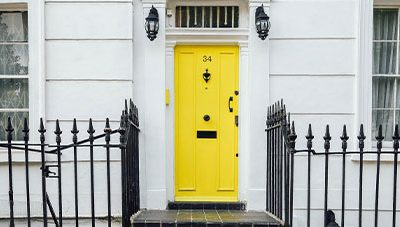 Choosing A Paint Color For The Front Door Of Your Home