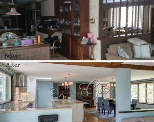 Before/After- Howard Kitchen